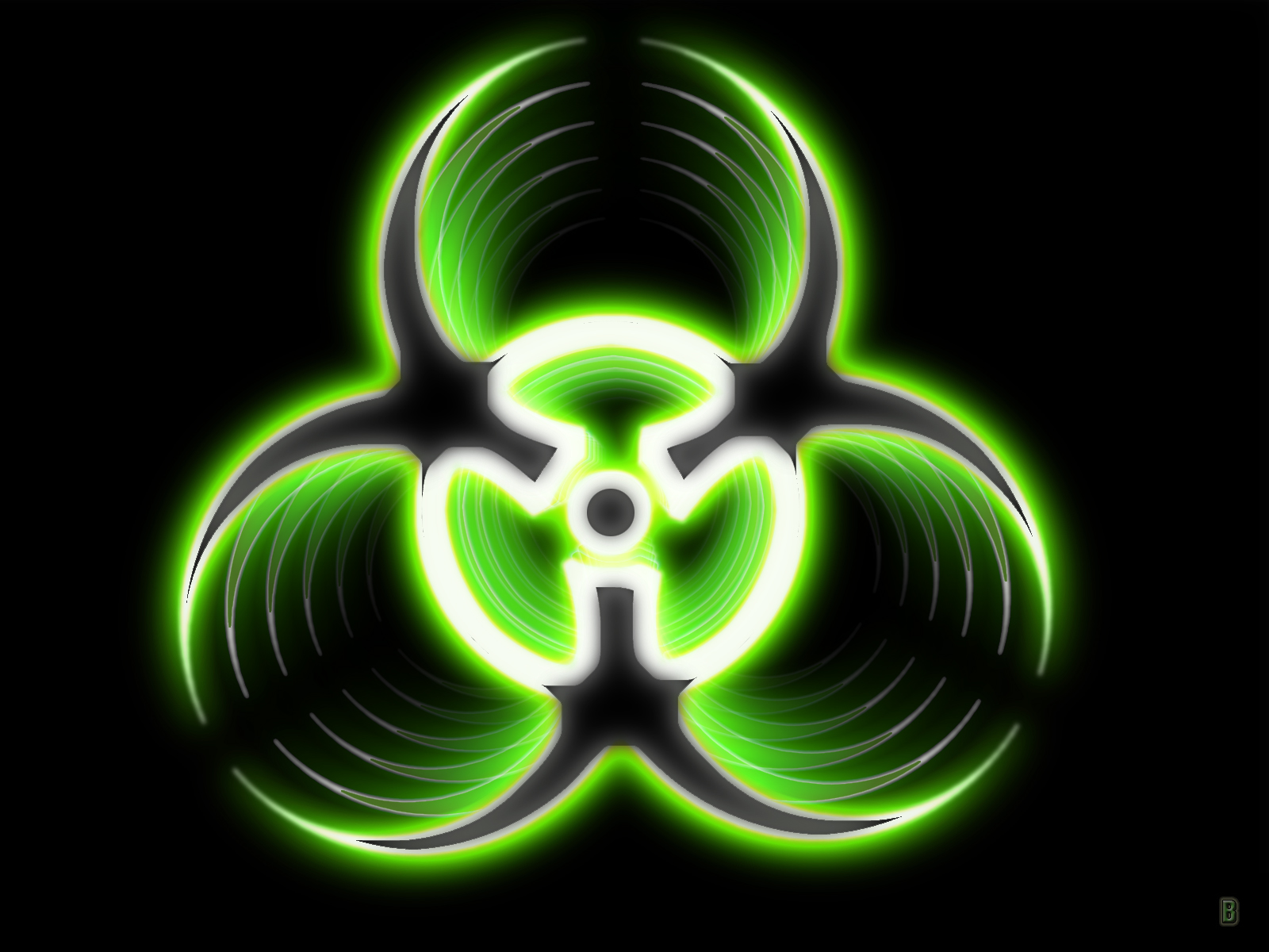 3d Radioactive Symbol T Shirts Sweatshirts Stickers Coffee Cups